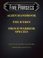 Five Parsecs Aliens: The K'Erin Warrior Species