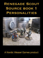 Renegade Scout Sourcebook 1: Characters