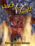 Hack-n-Slash: GM Screen