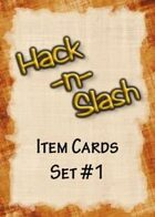 Hack-n-Slash: Fantasy Roleplay - Item Cards, Set #1