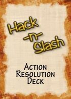 Hack-n-Slash: Fantasy Roleplay - Action Resolution Deck
