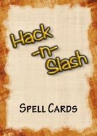 Hack-n-Slash: Fantasy Roleplay - Spell Cards