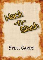 Hack-n-Slash: Fantasy Roleplay - Spell Cards
