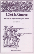 C'est la Guerre - Fast Play Wargame for the Age of Muskets