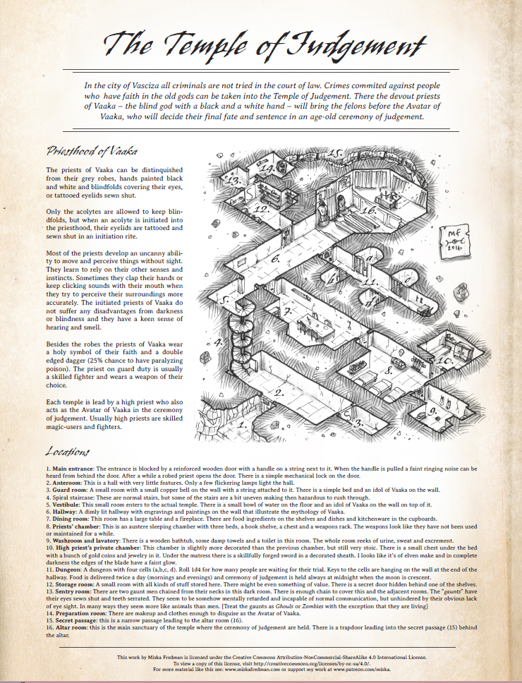 The Temple Of Judgement Ironspine Fantasy Maps Rpg Stuff