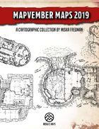 Miska's Maps Mapvember Maps 2019