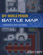 Off-World Prison Battle Map