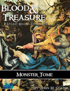 Blood & Treasure Monster Tome
