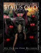 Status Quo: Chronicles of a Universe at War 4th Edition