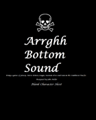 Arrghh Bottom Sound-Blank Character Sheet