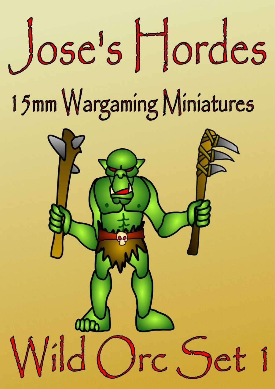 Jose's Hordes Wild Orc Warband