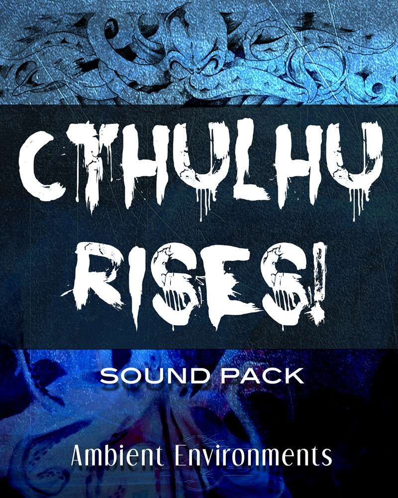 Cthulhu Rises! [BUNDLE] - Ambient Environments | Sci-Fi | Backgrounds |  Encounters | Action | Horror | Epic Battles | Modern | Mood Music | Ambient  |