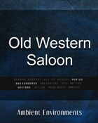Old Western Saloon   - from the RPG & TableTop Audio Experts