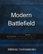Modern Battlefield - from the RPG & TableTop Audio Experts