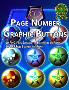 Knotty Works Page Number Buttons Set 2