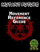 Mutant Future Movement Reference Sheet