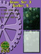 Knotty Works Gears Set 3 Sub Set 5
