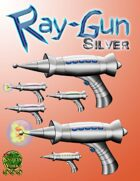 Ray Gun - Silver Set [Stock Art]
