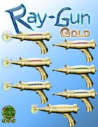 Ray Gun - Gold Set [Stock Art]