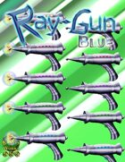Ray Gun - Blue Set [Stock Art]