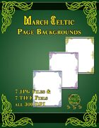 Knotty Works Backgrounds March Celtic Set 1