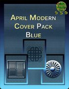 Knotty Works April Modern Cover Set Blue