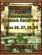 Player Paraphernalia Alternate Archetypes I [BUNDLE]
