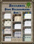 Knotty Works December Backgrounds Set 1