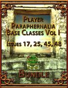 Player Paraphernalia Base Classes Vol I [BUNDLE]