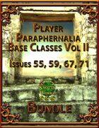 Player Paraphernalia Base Classes Vol II [BUNDLE]