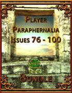 Player Paraphernalia Issues 76 - 100 [BUNDLE]