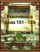 Player Paraphernalia Issues 101 - 150 [BUNDLE]