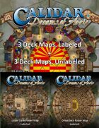 CA1 Deck Maps Bundle of 6 [BUNDLE]