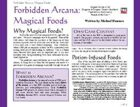 Forbidden Arcana: Magical Foods