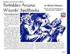 Forbidden Arcana: Wizards' Spellbooks