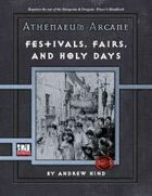 Athenaeum Arcane: Festivals, Fairs, and Holy Days