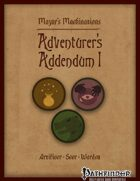 Adventurer's Addendum I