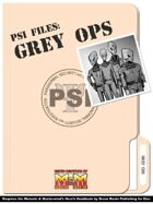 Psi Files: Grey Ops