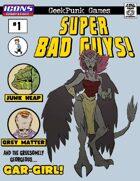 Super Bad Guys! #1 [ICONS]