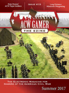 ACW Gamer: The Ezine-Issue 15, Summer 2017- ACWG15