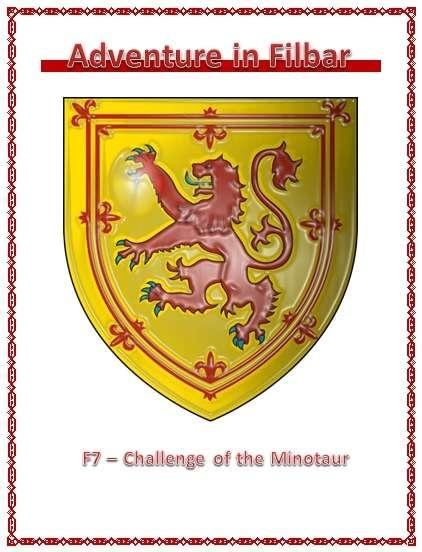 F7 - Challenge of the Minotaur - Adventures in Filbar | DriveThruRPG com