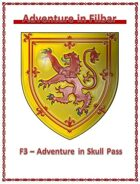 Cover of F3 - Adventure in Skull Pass