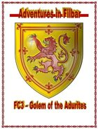 Cover of FC3 - Golem of the Adurites