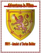 Cover of FN11 – The Amulet of Dorian Beldor