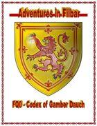 FQ0 - Codex of Gamber Dauch