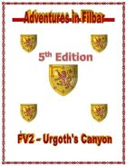 Cover of FV2 - Urgoth's Canyon