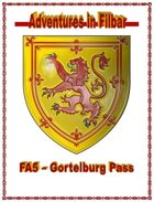 Cover of FA5 - Gortelburg Pass