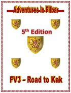 Cover of FV3 - Road to Kak