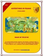 Cover of FD8 - Mask of Vexicon