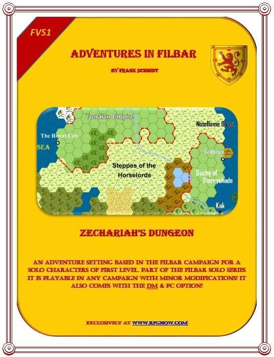 FVS1 - Zechariah's Dungeon